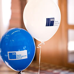 SIS Balloons SIS Swiss International School