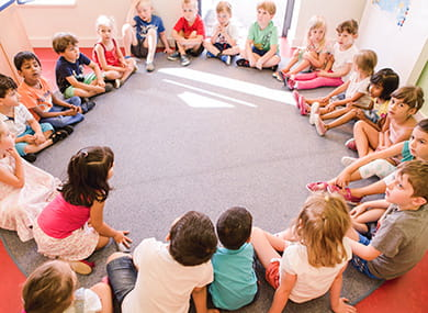 Kinderkreis an der SIS Swiss International School